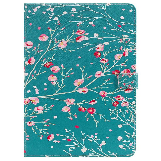Case For Apple iPad New Air 10.5 / iPad Mini 3/2/1/4/5 Wallet / Card Holder / with Stand Full Body Cases Flower PU Leather For iPad 10.2 2019/Pro 11 2020/Pro 9.7/2017/2018/iPad 2/3/4