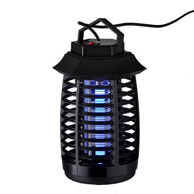 110V 220V Portable Electric LED Mosquito Insect Lamp Fly Bug Repellent Anti Mosquito UV Night Light EU US Plug