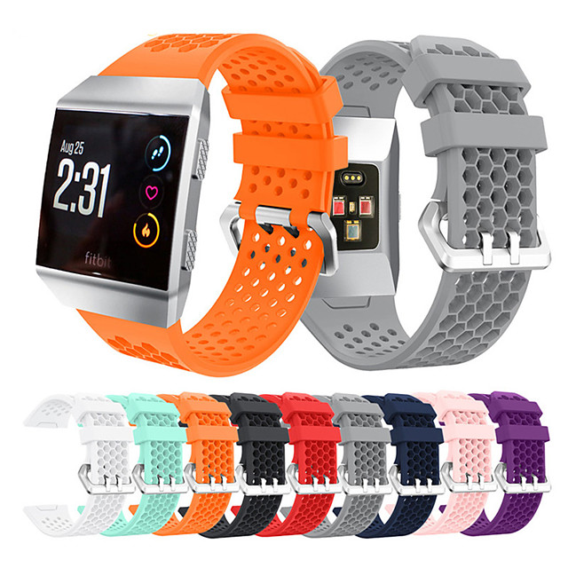 Watch Band for Fitbit ionic Fitbit Sport Band / Modern Buckle / Business Band Silicone Wrist Strap