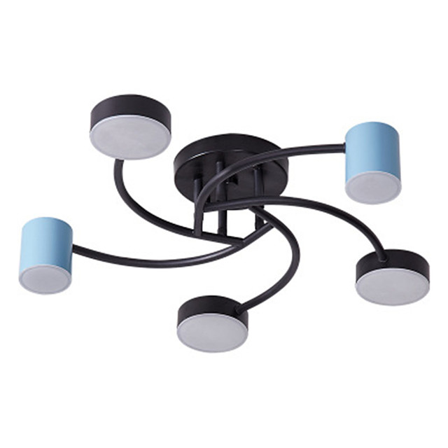 Modern Led Bedroom Lamp Simple Hanging Living Room Lamp Creative Personality Dining Room Sweet Lamps And Lanterns