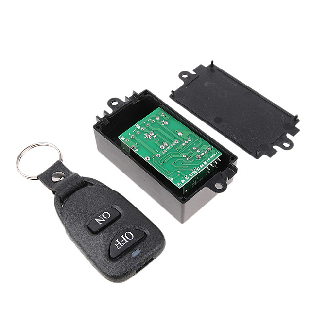 2-Buttom Relay Wireless RF Remote Control Switch DC 12V Transmitter Buckle 433Mhz