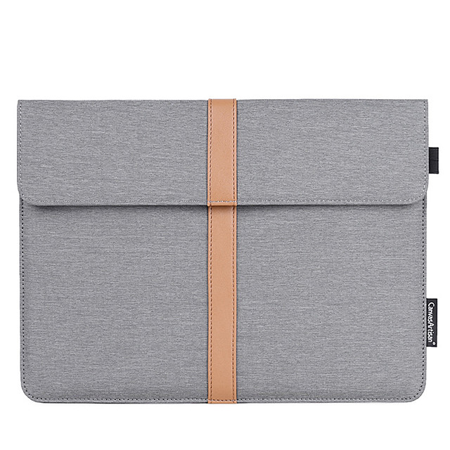 13.3/14/15.6 Inch Canvas Business Laptop Bag Flat Notebook Waterpoof Shock Proof Briefcase