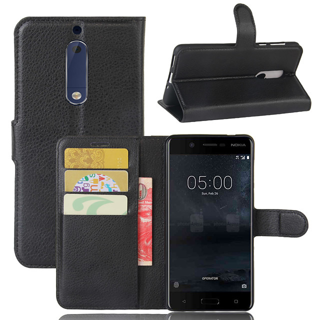 For Nokia 8 / Nokia 9 / Nokia 9 PureView Litchi Texture Horizontal Flip Leather Case with Wallet & Holder & Card Slots