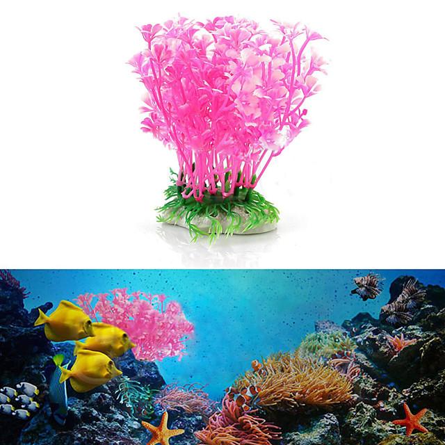 Fish Tank Decoration Simulation Artificial Trumpet Environmental Aquarium Accessories Simulation Fake Aquatic Plants
