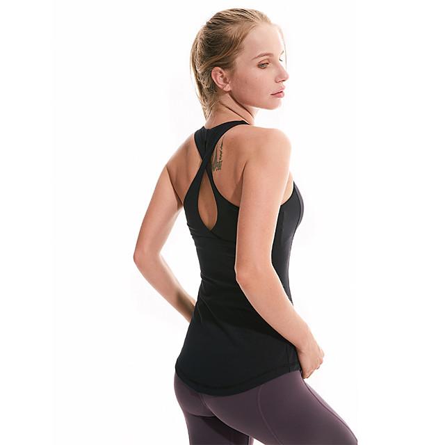 2020 Women Thin Shoulder Strap Cross Back Yoga Bras High