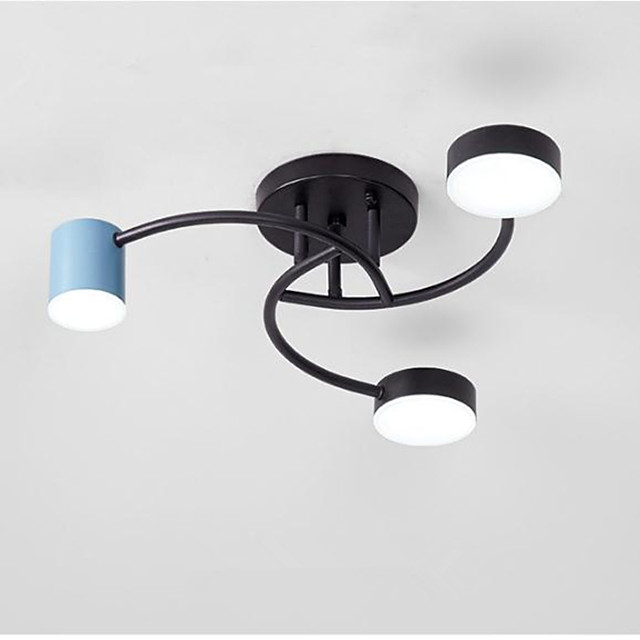Ceiling Lamp Modern Led Bedroom Lamp Simple Hanging Living Room Lamp 36W Three Color Light