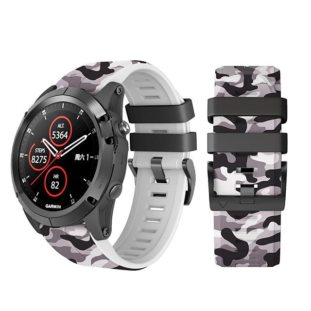 Replacement Band Sport Silicone Watch Band For Garmin Fenix6X/Fenix6X Pro/Fenix 3 HR/Fenix 5X/Fenix3 Watchband 26mm Watch Strap