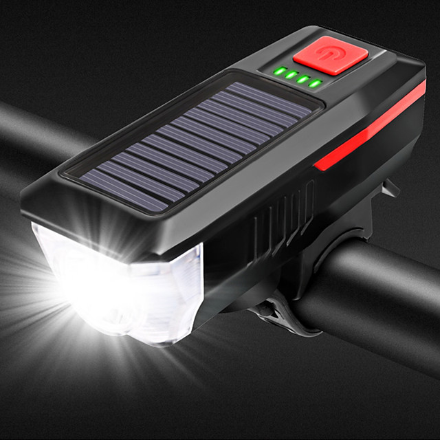 Bike Light Front Bike Light Bike Horn Light LED Bicycle Cycling Waterproof Quick Release Lithium Battery 350 lm Rechargeable Battery White Cycling / Bike / 120