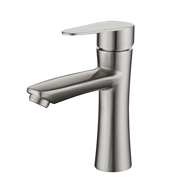 304 Stainless Steel Basin Faucet Basin Hot And Cold Mixed Water Bathroom Wash Basin Faucet