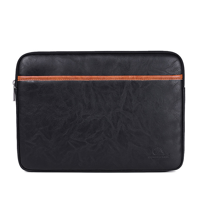 Business Leather Laptop Bag Ipad Macbook Briefcase Waterpoof Shock Proof Bag