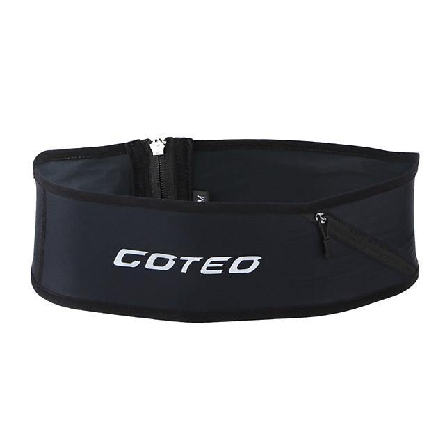 Running Belt Fanny Pack Belt Pouch / Belt Bag for Running Hiking Outdoor Exercise Traveling Sports Bag Reflective Adjustable Waterproof Tactel Men's Women's Running Bag Adults
