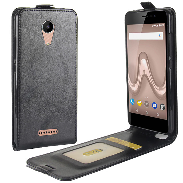 For Wiko tommy 2 Crazy Horse Vertical Flip Leather Protective Case