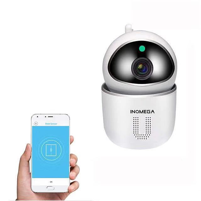 INQMEGA Tuya 1080P Home Security IP Wifi Camera CCTV Kamera Wireless Network Mini Surveillance Camera Baby Monitor PTZ Motion Detection Night Vision