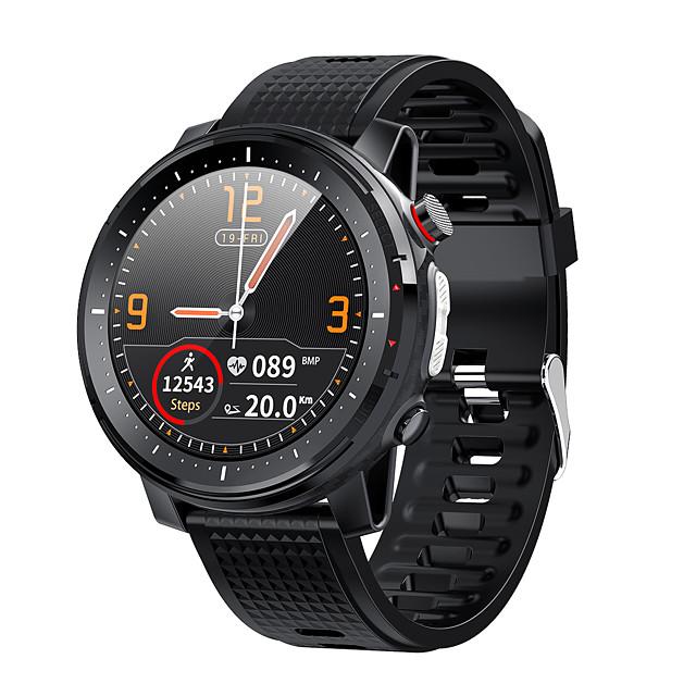 L15 SmartWatch ECG Heart Rate IP68 Waterproof Blood Pressure Music Control LED Torch Light VS L12 SG2 l13 Smart Watch