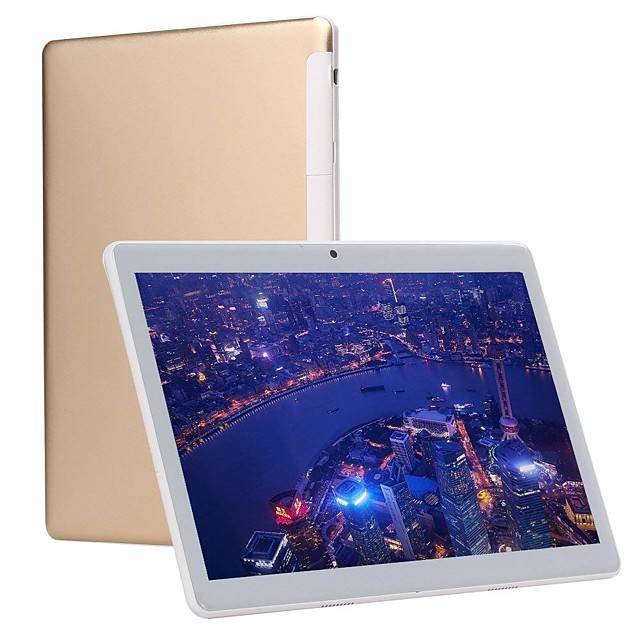 CY Q10pro 10.1 inch Android Tablet (Android 7.0 1280 x 800 Quad Core 1GB+16GB) / 64 / Micro USB / SIM Card Slot / 3.5mm Earphone Jack / IPS