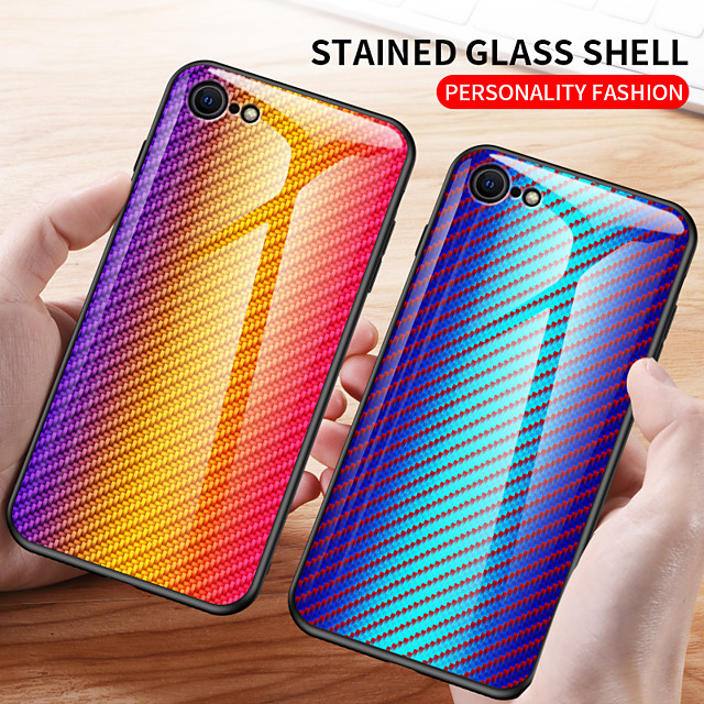 Case For Apple iPhone 11 / iPhone 11 Pro / iPhone 11 Pro Max Shockproof Back Cover Tile Tempered Glass