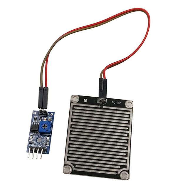 lluvia gotas de lluvia módulo sensor de nieve detector 3.3v-5v