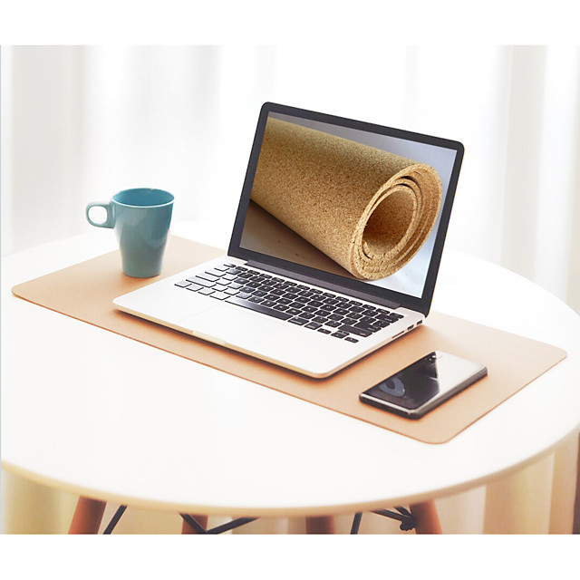 RM850 Cork Mouse Pad 850*420*2.5mm Large Size Desk Mat Office Use