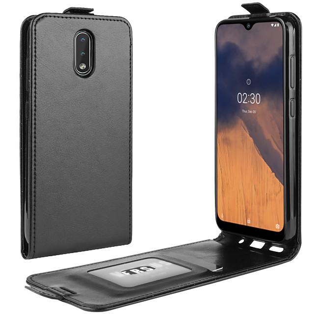 For Nokia 2.1/Nokia 2.2/Nokia 2.3 Crazy Horse Vertical Flip Leather Protective Case