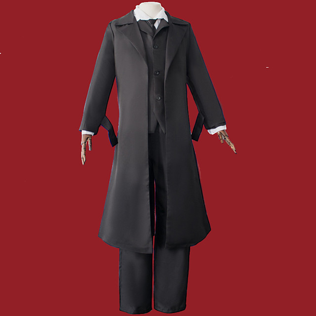 Inspired by Bungo Stray Dogs Anime Cosplay Costumes Japanese Cosplay Suits Coat Vest Blouse For Men's / Pants / Waist Belt