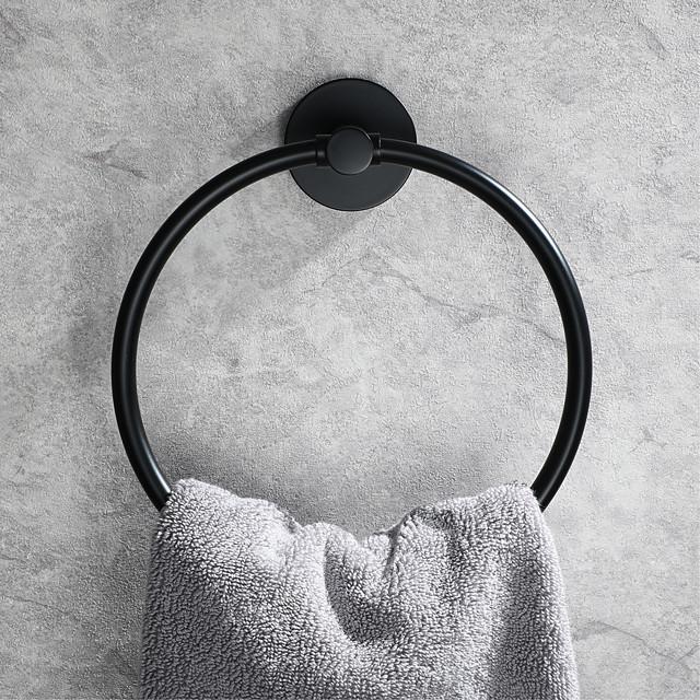 Κρεμάστρα Νεό Σχέδιο Σύγχρονο Ανοξείδωτο Ατσάλι Μπάνιο πετσέτα δαχτυλίδι Επιτοίχιες