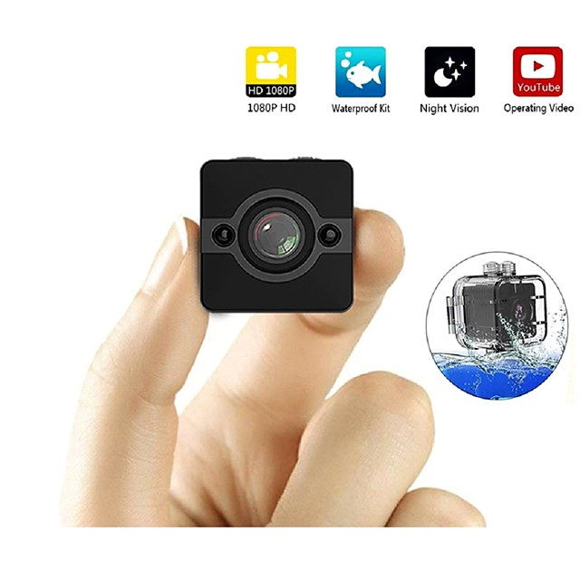 SQ12 Mini IP Camera HD 1080P Waterproof Wide-angle Lens Camcorder Sport DVR Infrared Night Vision Micro Cam Small Cameras
