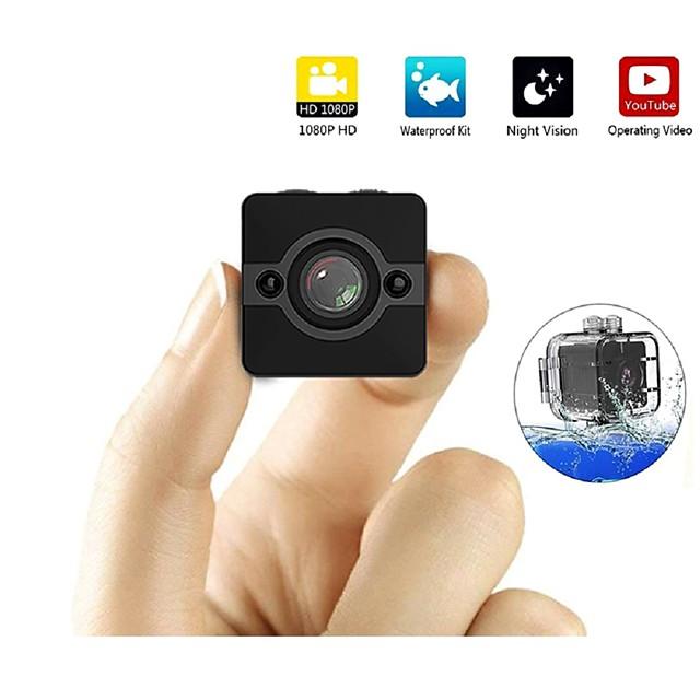 sq12ミニipカメラhd 1080 p防水広角レンズビデオカメラスポーツdvr赤外線ナイトビジョンマイクロカム小型カメラ