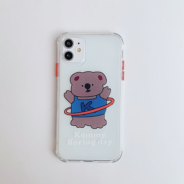 Case For Apple iPhone 11 / iPhone 11 Pro / iPhone 11 Pro Max Pattern Back Cover Cartoon TPU