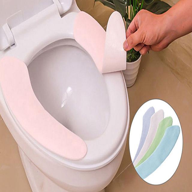Toilet Seat Universal Household Toilet Sticker Ring Toilet Washer Toilet Set Four Seasons Universal