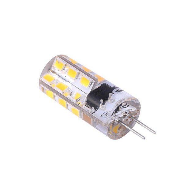 G4 LED Bulb Bi-Pin Base Lampe Spot 2835 SMD 24 LEDs 220V 20W Halogen Bulb Equivalent 2W Pour Maison 360 Degree White Warm White 1pc