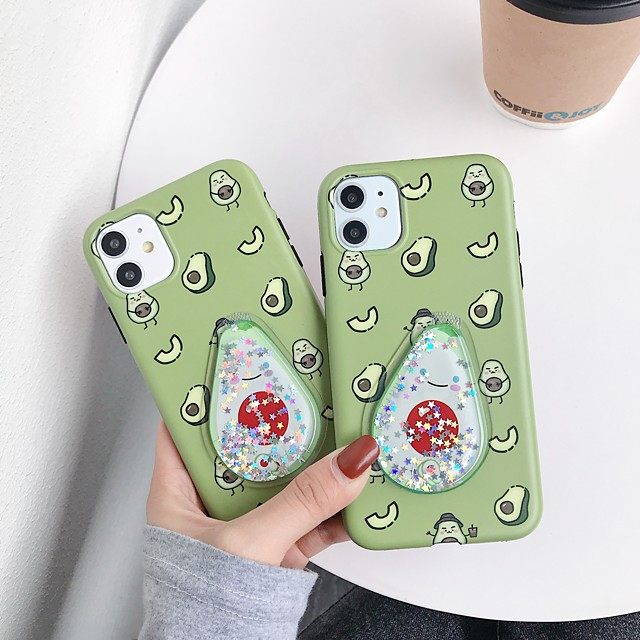 Case For Apple iPhone 11 / iPhone 11 Pro / iPhone 11 Pro Max Flowing Liquid / IMD / Frosted Back Cover Food TPU