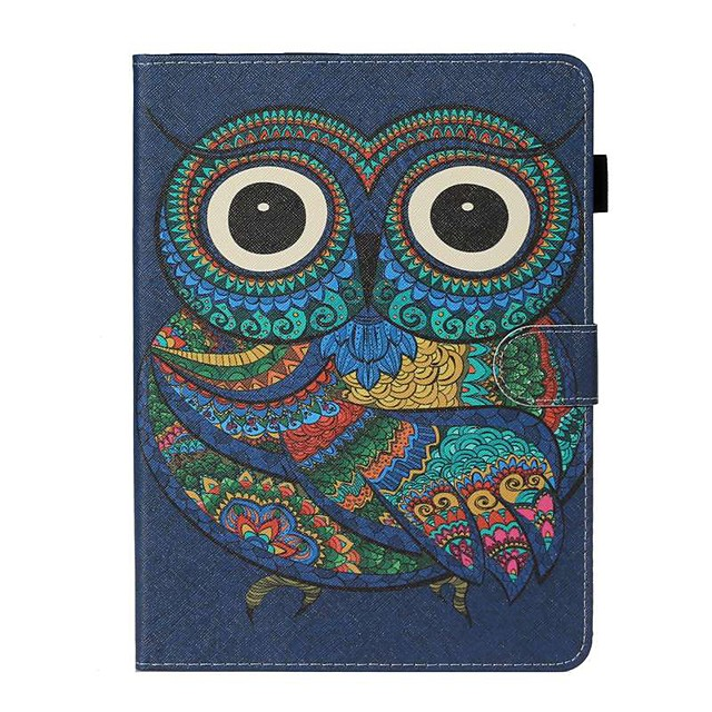 Case For Apple iPad New Air 10.5 / iPad Mini 3/2/1/4/5 Card Holder / with Stand / Flip Full Body Cases Animal PU Leather For iPad 10.2 2019/Pro 11 2020/Pro 9.7/2017/2018