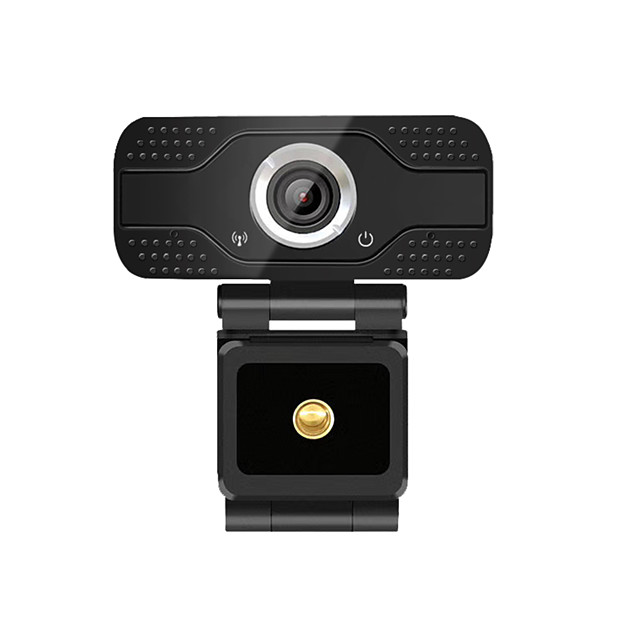 Hiseeu Mini HD Webcam Rotatable USB Web Camera Plug and Play with Built-in Mic For PC Computer Desktop Laptops Video Conference Work
