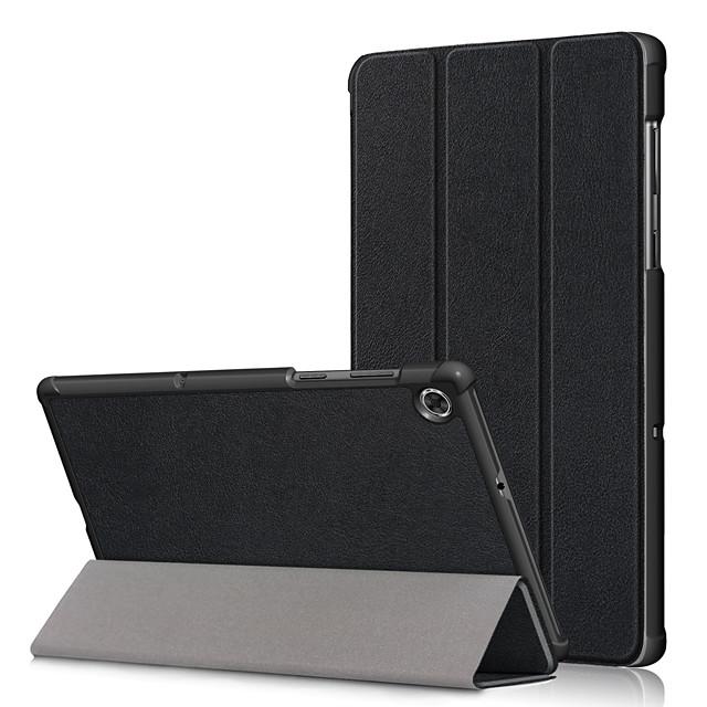 Case For Lenovo Lenovo YOGA TAB3 Pro 10.1(YT3-X90L / F) / Lenovo YOGA TAB3 10.1 X50L / F Shockproof Full Body Cases Solid Colored PU Leather