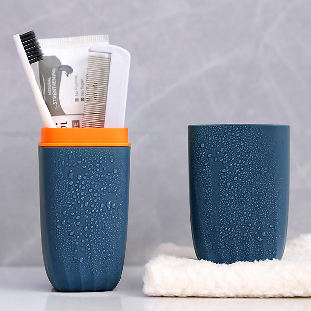 Multifunctional Portable Bath Travel Toothbrush Protect Holder Case Toothpaste Mug Storage Box Hiking Camping Storage