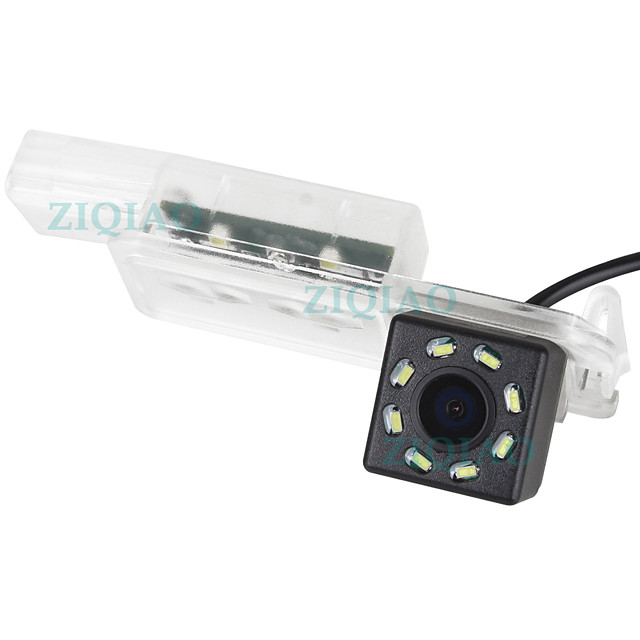 ZIQIAO 480 TV-Lines 720 x 480 CCD Wired 170 Degree Rear View Camera Waterproof / Plug and play for Car