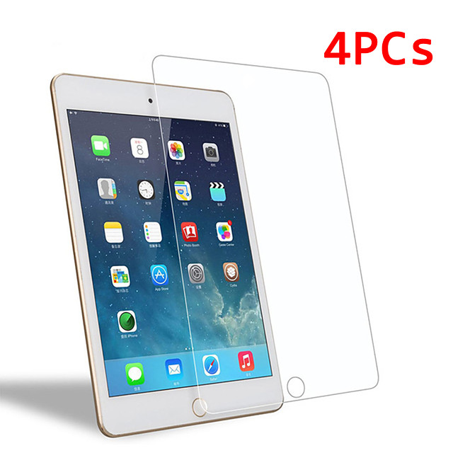 AppleScreen ProtectoriPad Mini 4 9H Hardness iPad Screen Protectors 4 pcs Tempered Glass