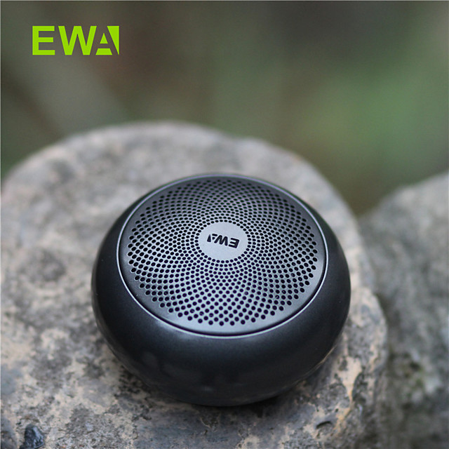 EWA A110mini Wireless Bluetooth Speaker Portable Outdoor Built-in Battery Loud Sound Strong Bass Metal Covering