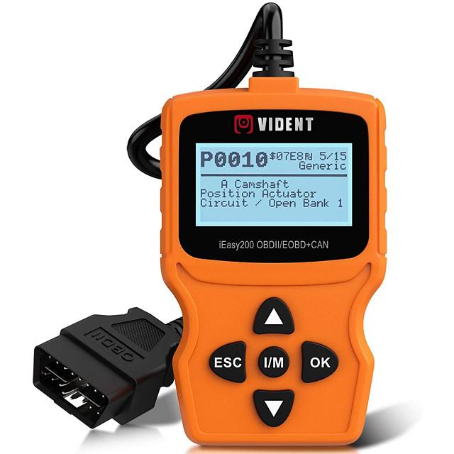 vident ieasy200 obdii / eobdcan čitač koda za provjeru vozila alat za dijagnostiku svjetla automobila