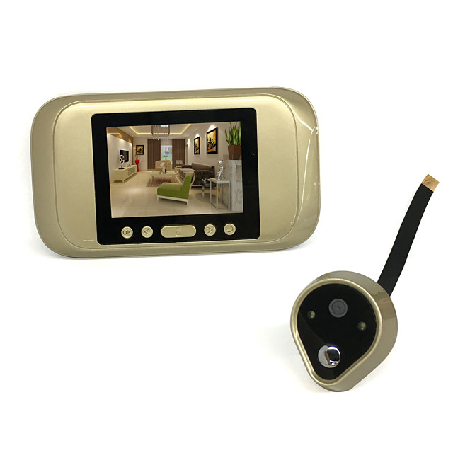 720 HD Electronic Cat's Eye Smart Wired Video Doorbell Camera
