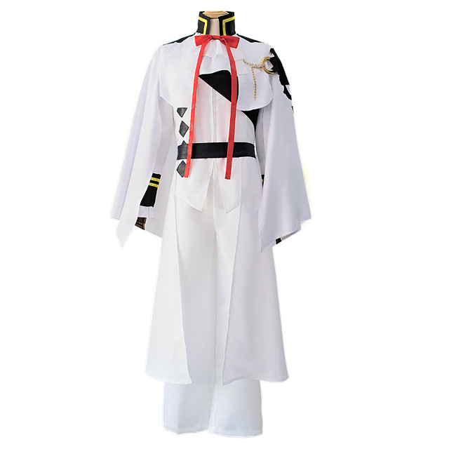 Inspired by Seraph of the End Anime Cosplay Costumes Japanese Cosplay Suits Top Pants Cloak For Men's / Headwear / Bow Tie