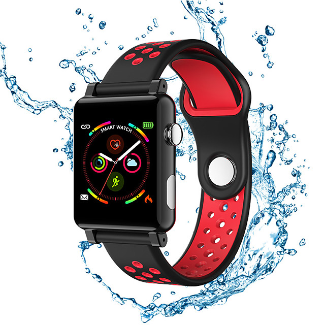 B71 Smart Watch Fitness Tracker with Heart Rate Monitor Activity Tracker with 1.3 Touch Screen IP68 Waterproof Pedometer Smartwatch with Sleep Monitor Step Counter for Women and Men