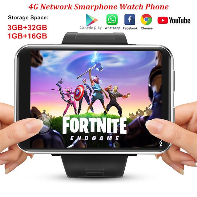JSBP 4G SmartWatch Android 7.1 3GB32GB 2.86inch Screen Support SIM Card GPS WiFi 2880mAh Big Battery SmartWatch Men Women