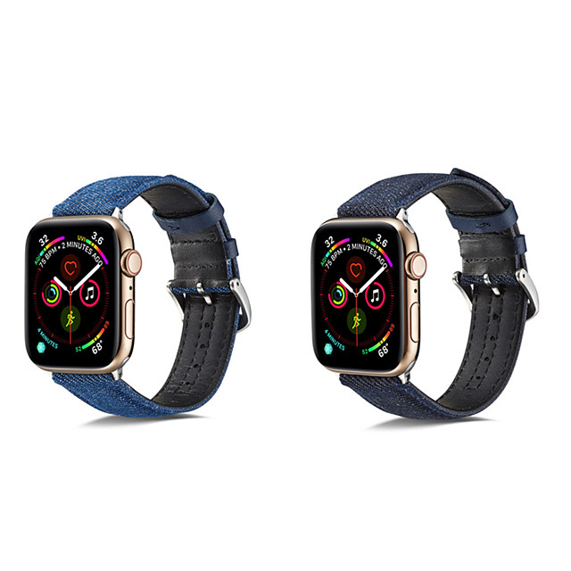 Watch Band for Apple Watch Series 5/4/3/2/1 Apple Classic Buckle / Business Band Genuine Leather Wrist Strap