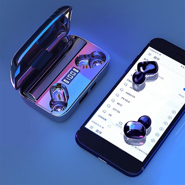 A9 TWS 9D Stereo Wireless Earbuds IPX7 Waterproof  Bluetooth5.0 Earphones Sport Headphones