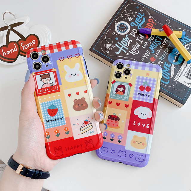 Case For Apple iPhone 11 / iPhone 11 Pro / iPhone 11 Pro Max Shockproof Back Cover Cartoon PC