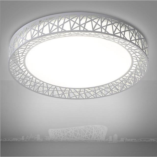 3 Color Dimming Fashion LED Bird's Nest Shape Fixture Modern Lamp Lighting Living Room Bedroom Surface Mount  Home Decor Lighting 220v