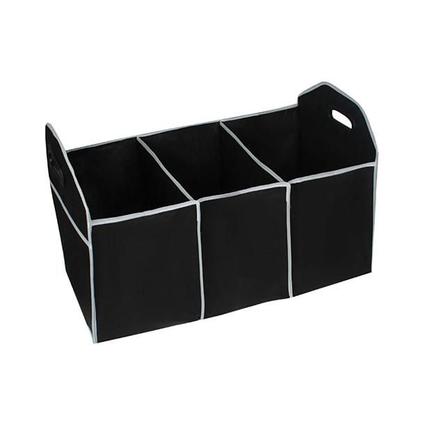 52L Car Trunk Organizer Car Interior Accessories Back Seat Storage Box Bag