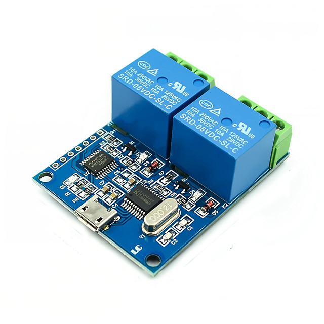 USB Control Relay Module LCUS-2 PLC Intelligent Control Switch Module