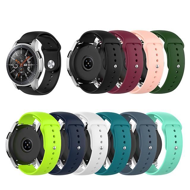 Ремешок для часов для Амазфит ГТР 42мм / Амазфит Бип / Амазфит ГТС Amazfit Спортивный ремешок / Классическая застежка силиконовый Повязка на запястье